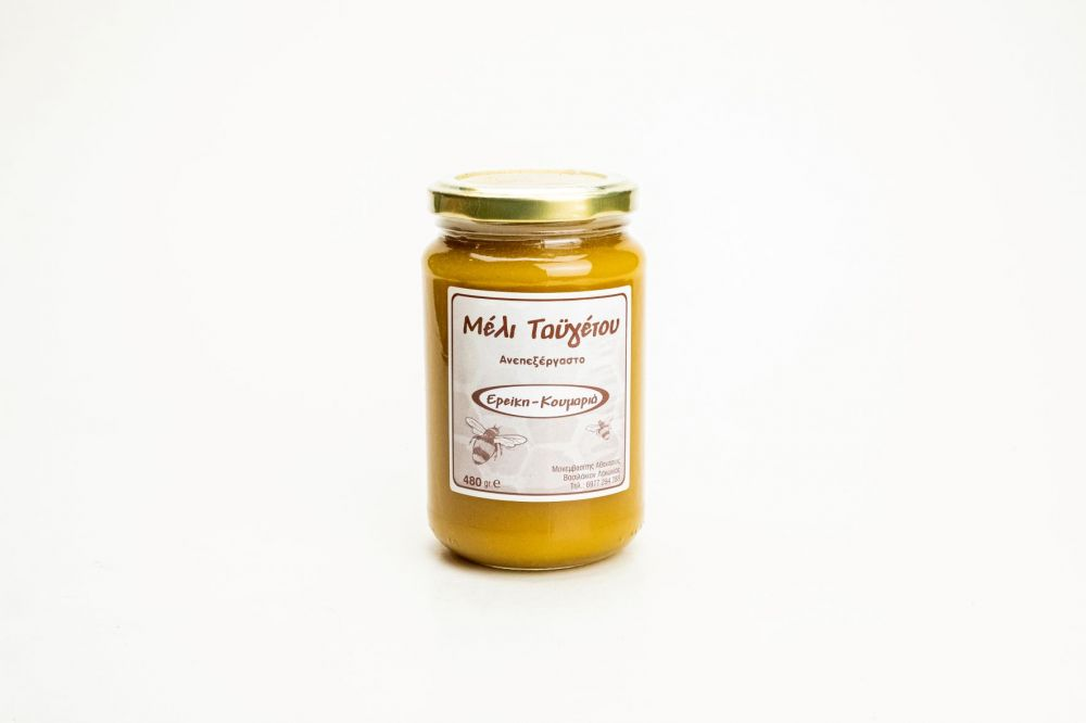 Μέλι ερείκης - κουμαριάς βάζο 480gr