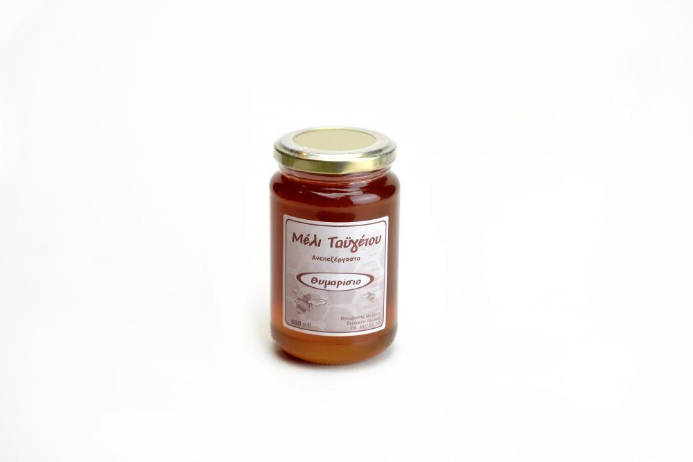 Μέλι θυμαρίσιο βάζο 480gr