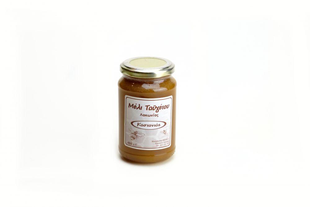 Μέλι καστανιά βάζο 480gr