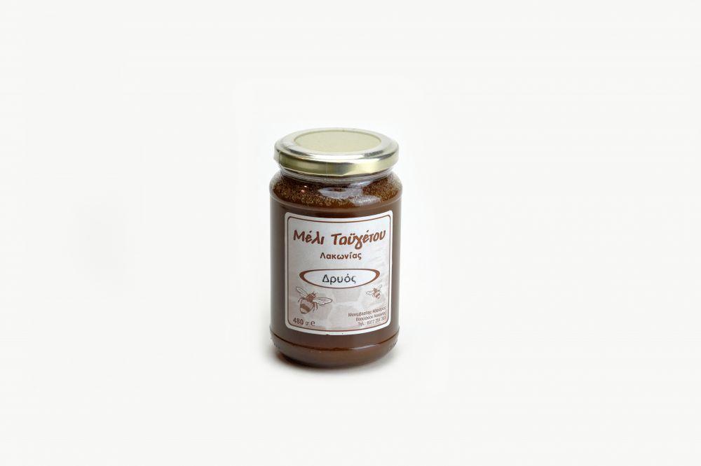 Μέλι δρυός βάζο 480gr
