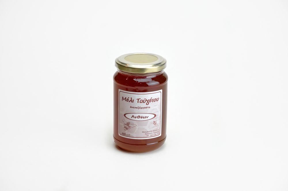 Μέλι ανθέων βάζο 480gr