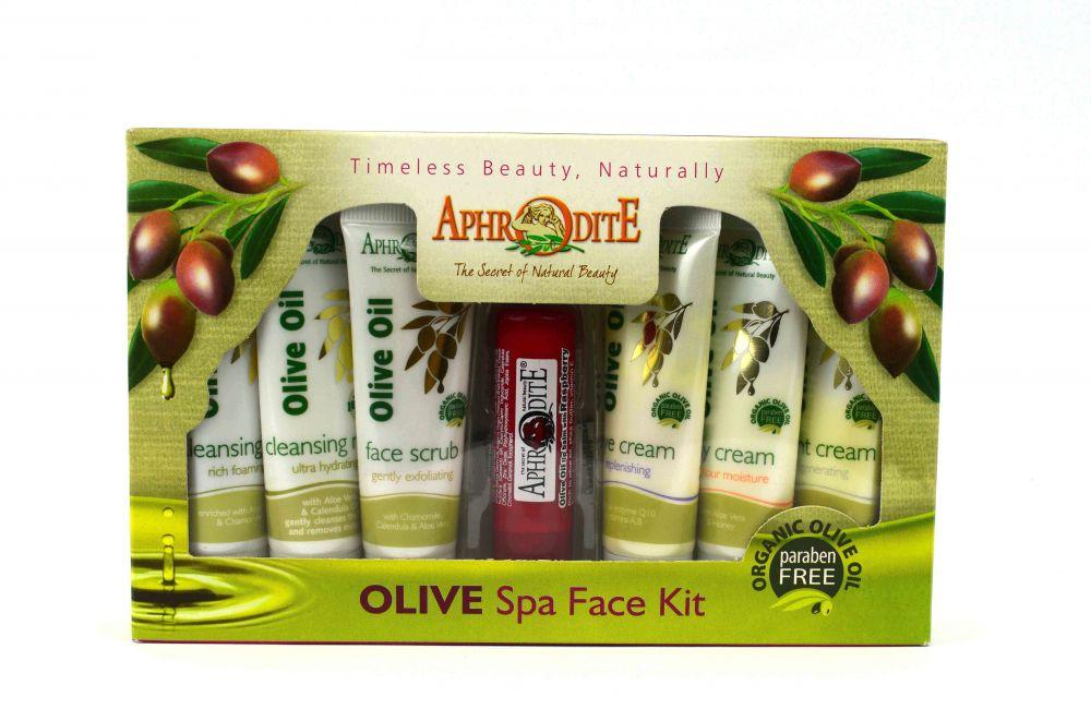 ΣΕΤ ΠΕΡΙΠΟΙΗΣΗΣ ΠΡΟΣΩΠΟΥ - Olive Spa Face Kit