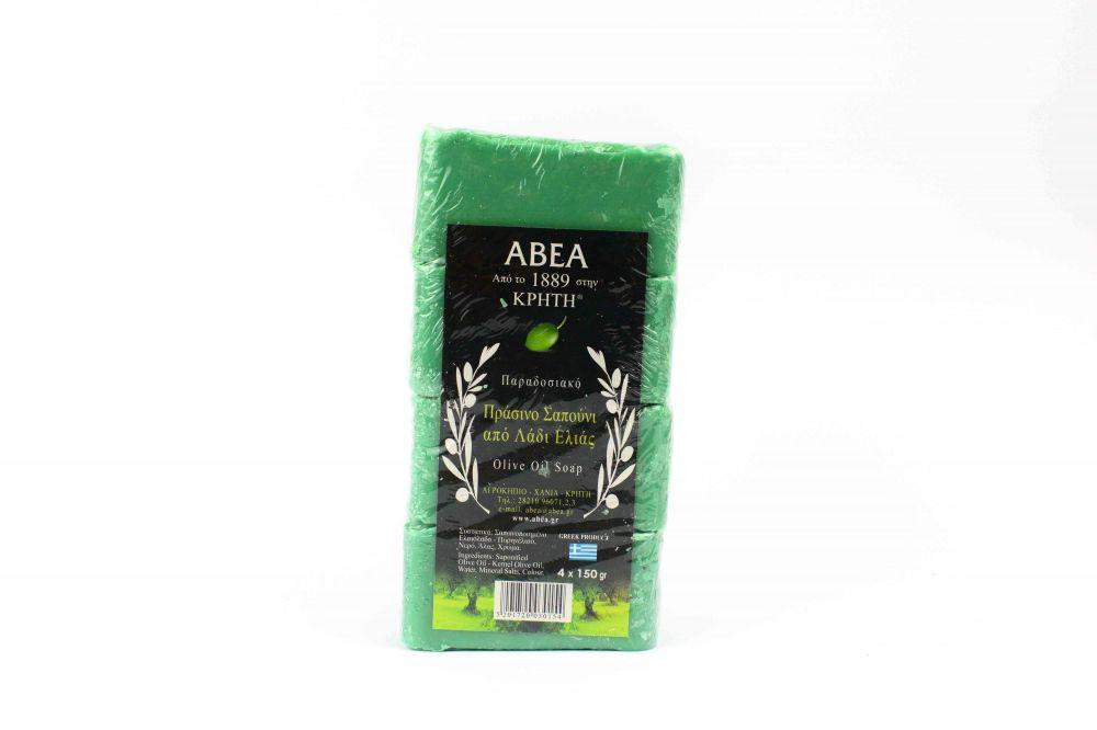 Σαπούνι ελαιολάδου ΑΒΕΑ 4 τμχ των 150 γραμ.
