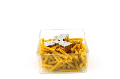 Φυτιλάκια παραφίνης κίτρινα μικρό